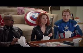 """SNL - Scarlett Johansson Looks For Love In """"Black Widow: Age Of Me"""" Trailer"""