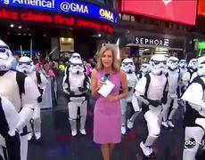 Exclusive Look - New 'Star Wars' Film Set