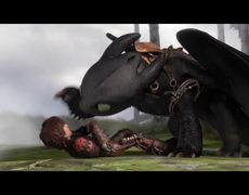 How To Train Your Dragon 2 Official Movie CLIP Dragon Kisses 2014 HD Gerard Butler Sequel