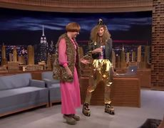 The Tonight Show: Jimmy and Charlize Theron Choose Each Other's Outfits