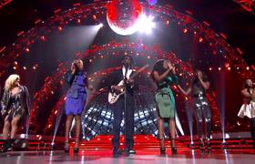 AMERICAN IDOL - Top 6 Girls and Nile Rodgers