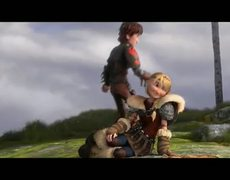 How To Train Your Dragon 2 Official Movie CLIP Hiccup Astrid 2014 HD Gerard Butler Sequel