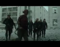 The Hunger Games Mockingjay Part 1 Official Movie CLIP Airstrike 2014 HD Jennifer Lawrence Movie