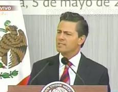 Peña Nieto Discurso Aniversario 5 de Mayo 2014