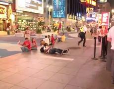 Times Square Cop FAIL