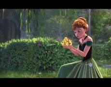 Frozen For The First Time In Forever Sing A Long MUSIC VIDEO 2013 Animated Disney Movie