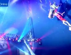 VIDEO: Acróbata cae desde 6 metros de altura durante funcipon de circo en Houston, Texas