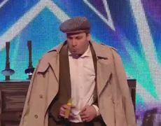 Britains Got More Talent 2014 Gary Jamess Delboy impression