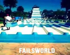Epic FAIL Water Slide