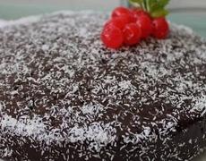 Dessert Recipes Coconut cake with chocolate