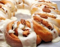 Dessert Recipe Cinnamon Walnut Thread