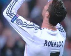 Real Madrid vs Bayern Munich Cristiano Ronaldo Great Chance