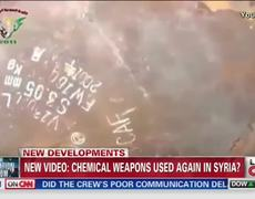 Raw Video Shows new chemical weapons attack in Syria