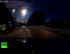 UFO or Meteor lights up again Russias sky