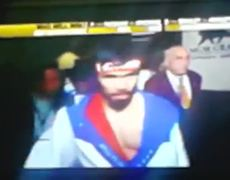 Manny Pacquiao vs Timothy Bradley Introduction Box Fight