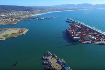 Ensenada: Ciudad  con  uno de los principales puertos de altura de...