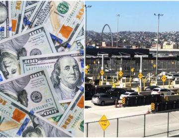 ¿Cuánto dinero sin declarar puedo cruzar de EEUU a México?