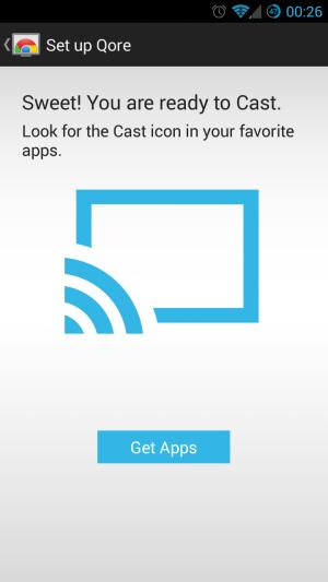 Configurar Chromecast es casi tan sencillo como presionar un botón