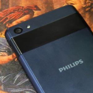 A pesar de la poderosa pila, el espesor del teléfono es de sólo 9 mm