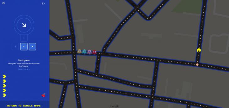 Ahora Puedes Jugar Pac Man Dentro De Google Maps Qore