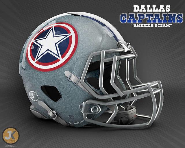 ... cascos de futbol americano con diseños increíbles. Aunque hay algunos  conceptos que parecen más calcomanía que logotipo b5e12bbd6d1