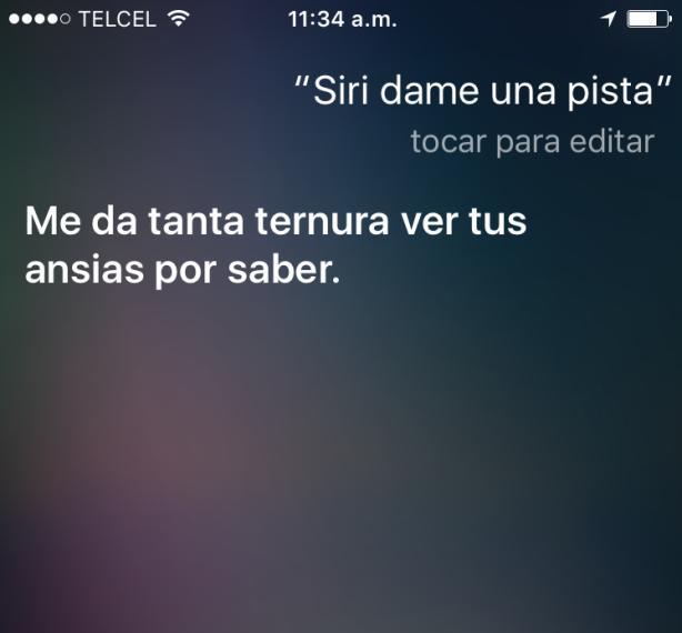 ¡Siri, no seas cruel!