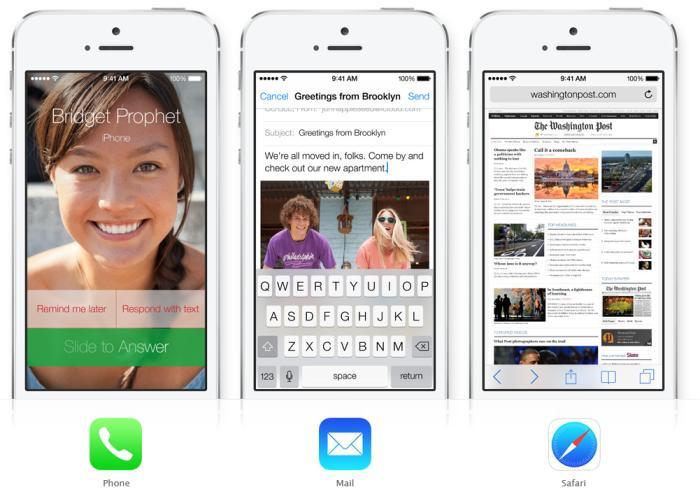Esta es la nueva imagen de iOS 7