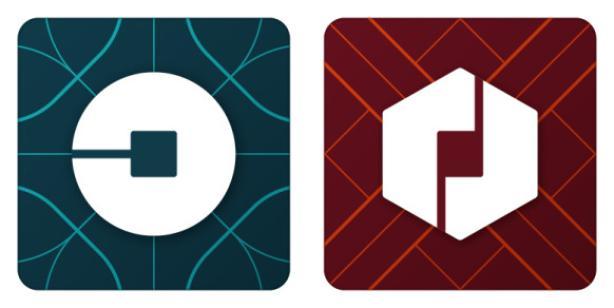 A la derecha el logo para la app de los socios, a la izquierda el de los clientes