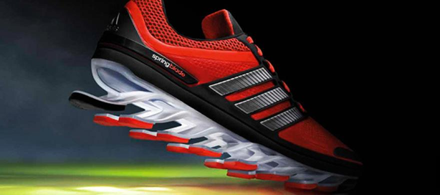 sports shoes 54e8f 2875b zapatillas adidas con resortes