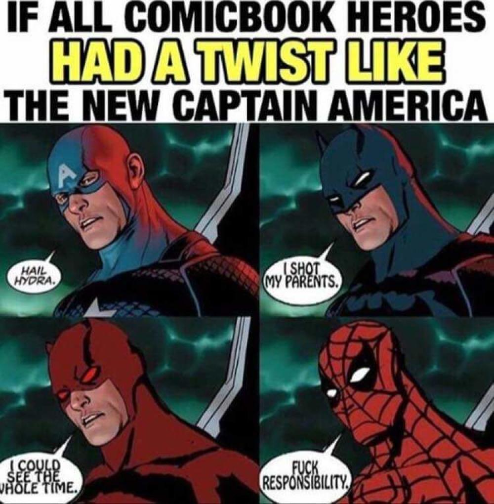 """Batman: """"Le disparé a mis padres""""; Daredevil: """"Podía ver todo este tiempo""""; Spider-Man: """"Al carajo la responsabilidad""""."""