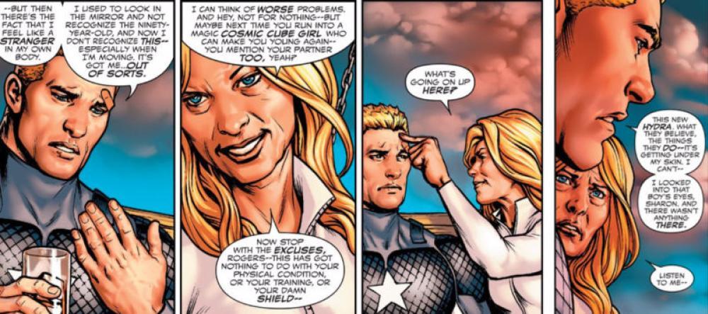 Incluso, Capitán América se siente extraño al recuperar sus poderes