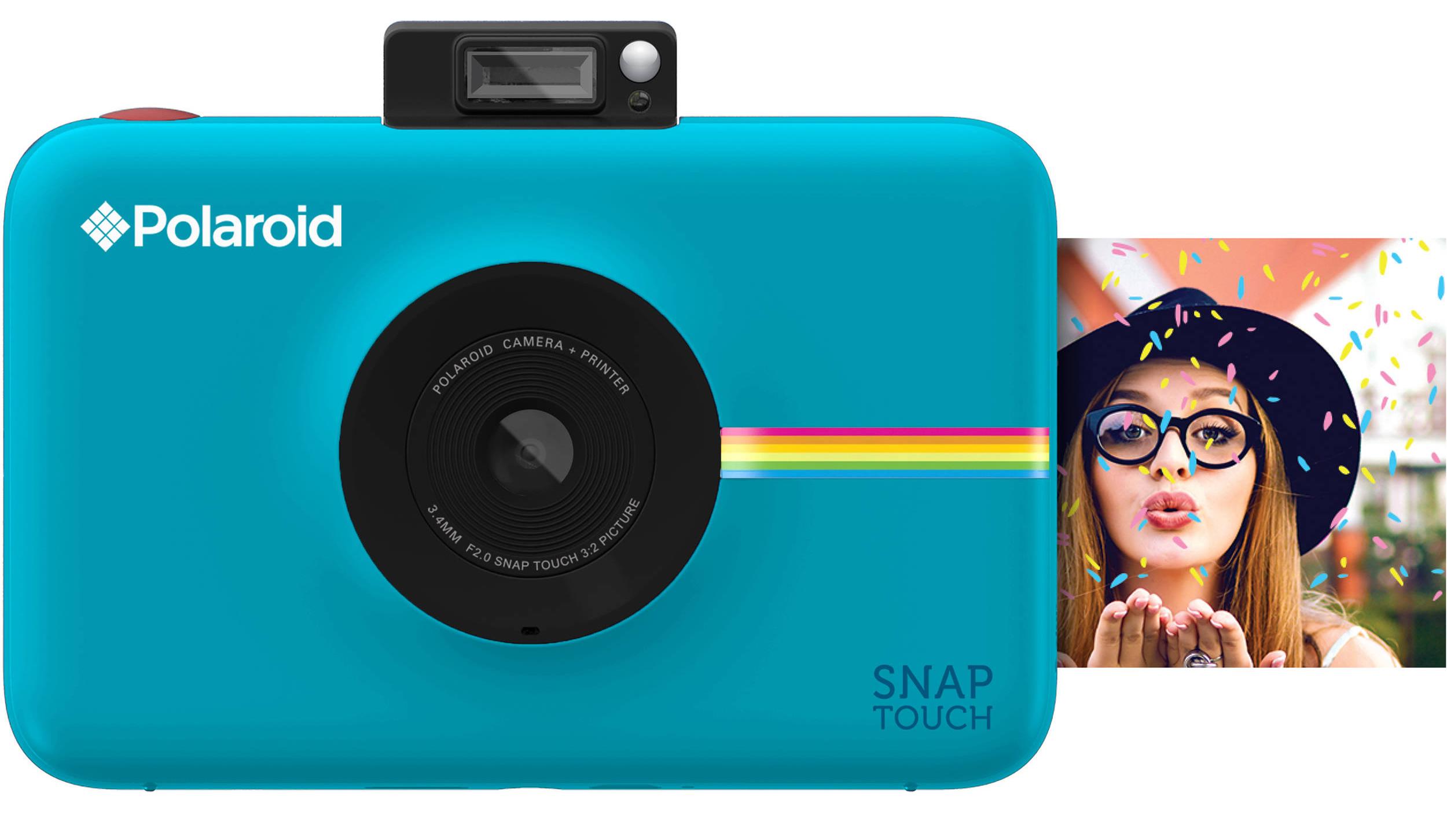 32b7acc8f5 En 2015 salió a la venta la Polaroid Snap, una cámara instantánea que  utiliza la tecnología Zink (o Zero INK) para imprimir fotografías al  instante.