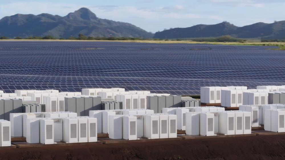 Las baterías Powerpack de Tesla se encargan del almacenamiento de energía