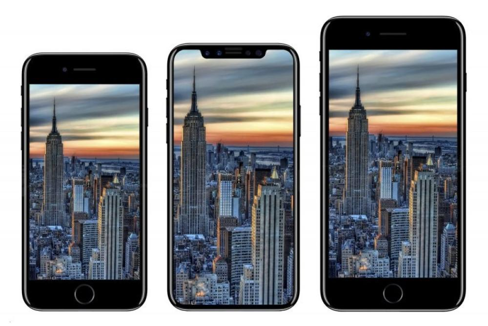 El iPhone 7, el supuesto iPhone 8 y el iPhone 7 Plus