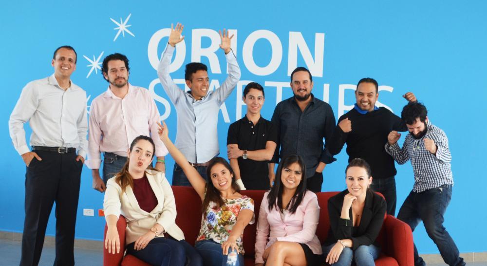 El equipo de Orion Startups