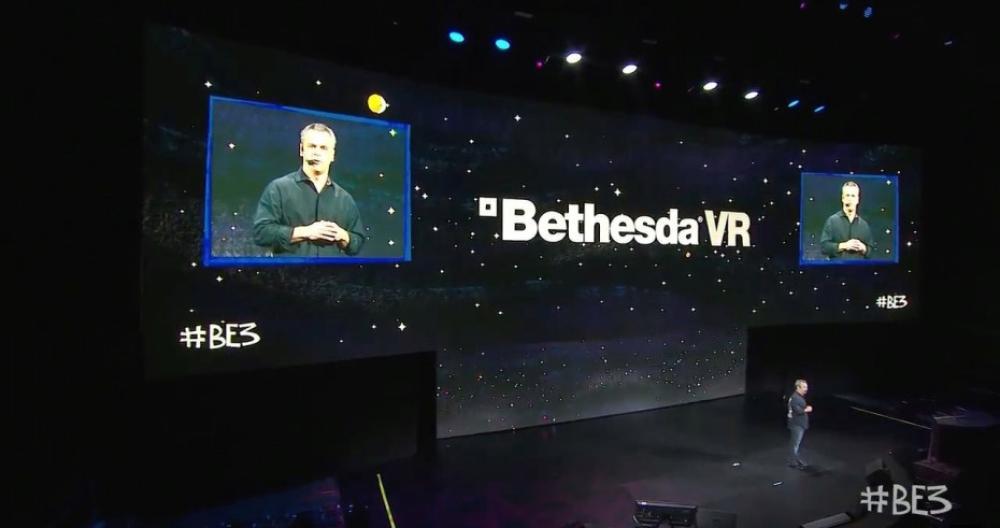 Aunque con más interacción, Bethesda también se ciñó al modelo de mostrar mucho video