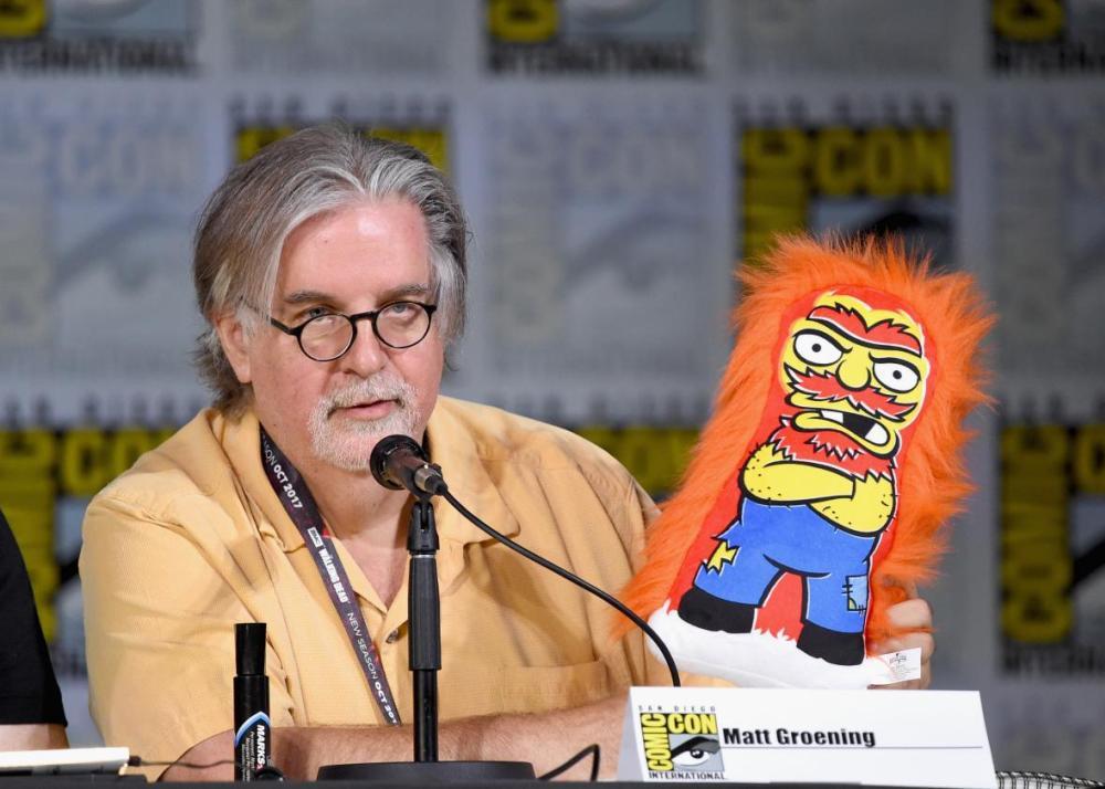 Matt Groening en la Comic-Con 2017