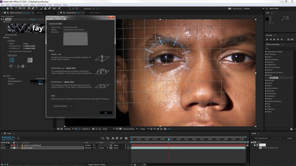 La tecnología de Fayteq permite añadir efectos a videos