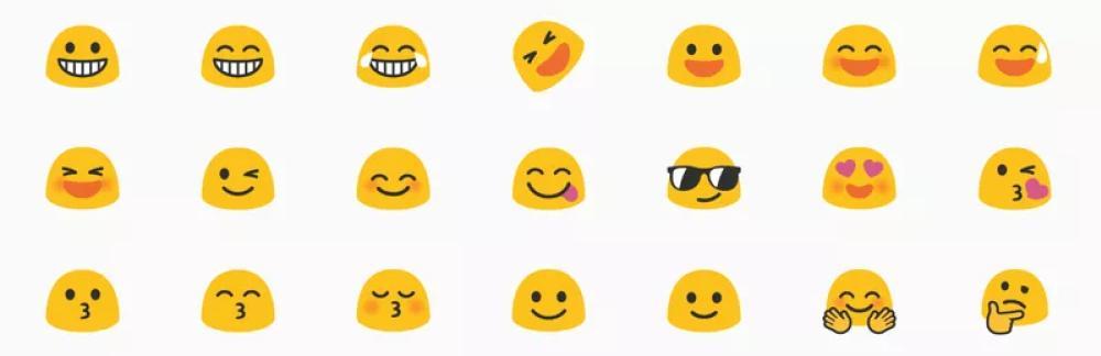 Los emojis de Android tendrán un nuevo diseño