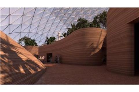 Un vistazo al interior de la enorme ciudad marciana