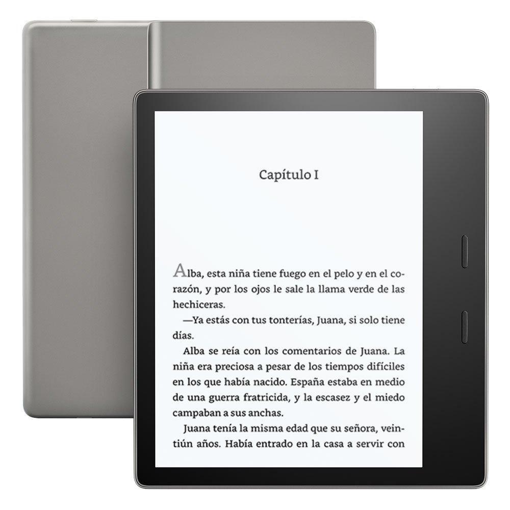 El nuevo Kindle Oasis.