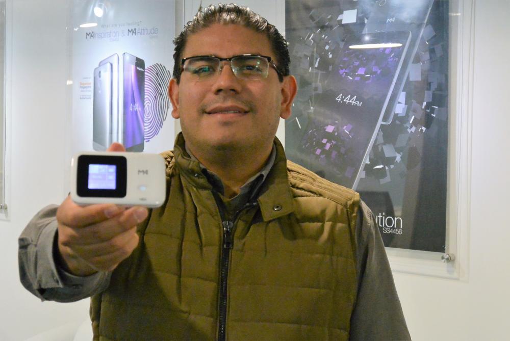 Rubén Zavaleta, director comercial de M4Tel.