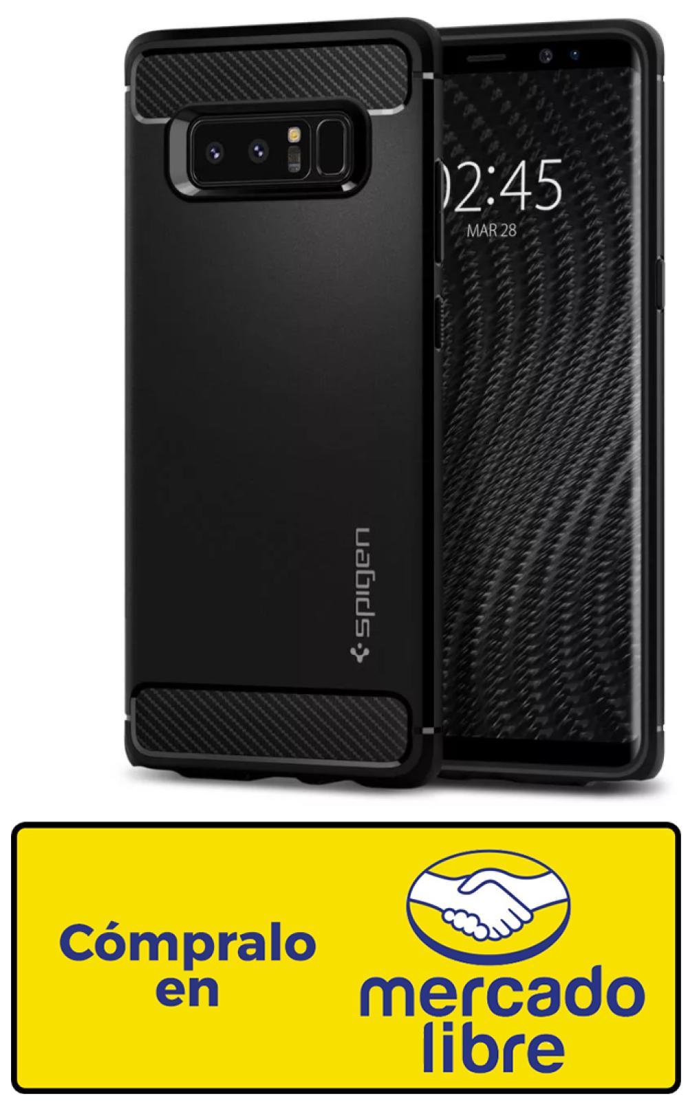 832ab5cd16d Compra la Spigen Rugged Armor Galaxy Note 8 desde $399.99 MXN. Por un lado  están los que prefieren fundas con ...