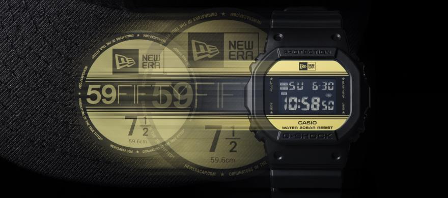 1dfadbaf8f34 Casio y New Era presentan G-Shock de edición limitada - Qore