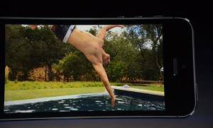 La cámara puede grabar video a 120 cuadros por segundo