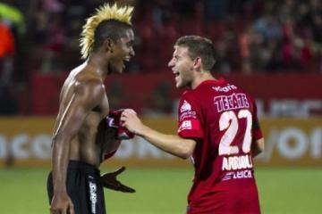 Paul Arriola talks after the Santos Laguna match