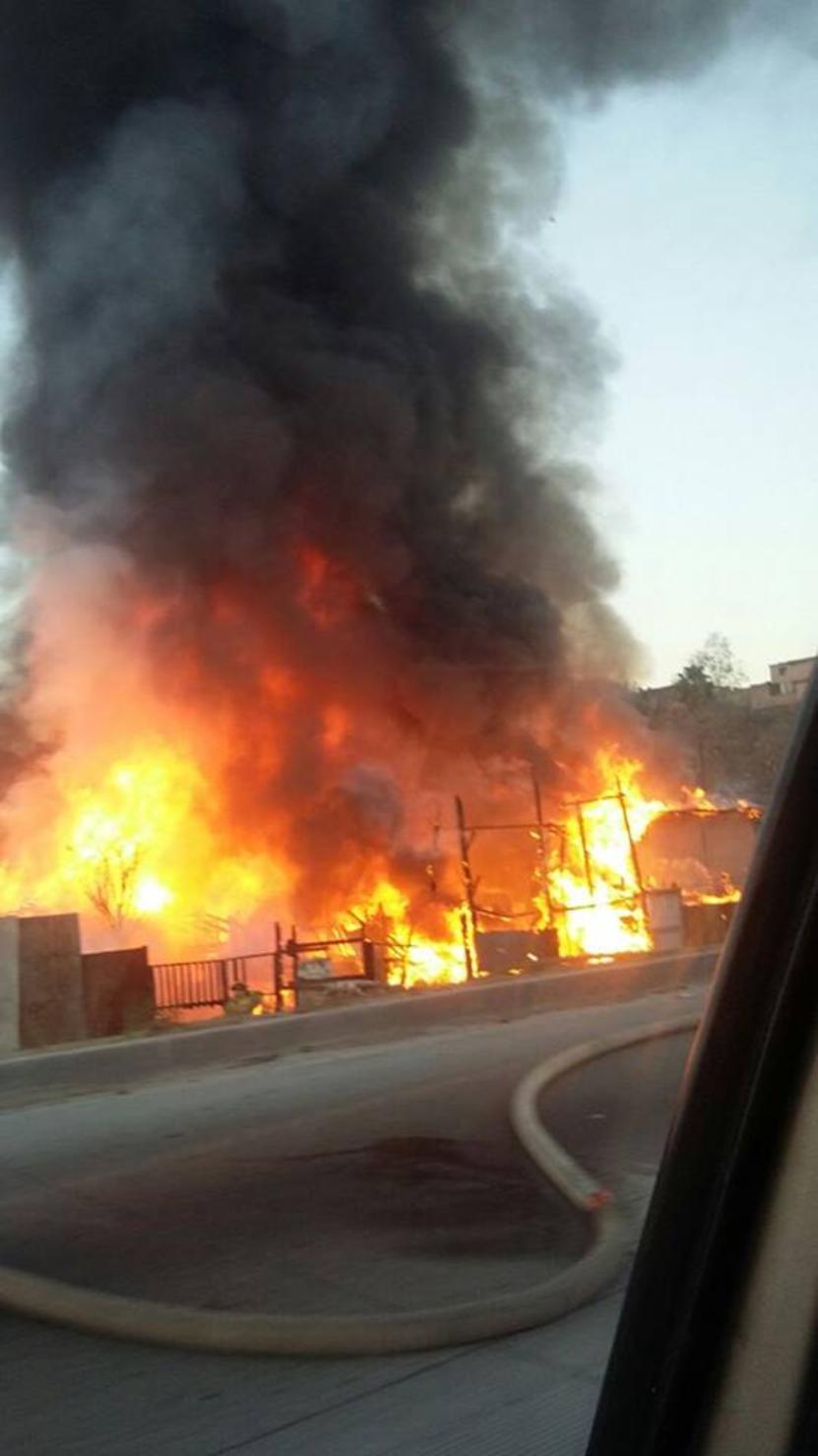 Resultado de imagen para incendio en el alamar en tijuana