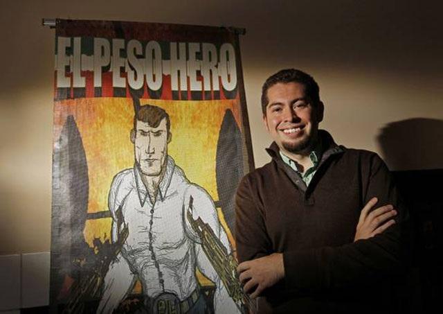 """Hector Rodriguez, creador de """"El Peso Hero"""""""