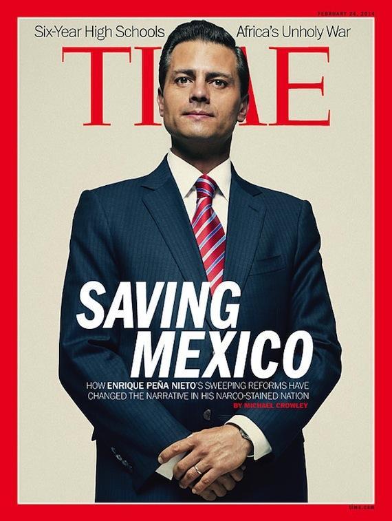 """Portada de la revista """"TIME"""" en su edición internacional"""