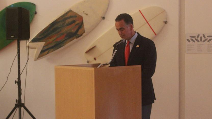 The Secretary of Development of Tijuana, Xavier Peniche Bustamante
